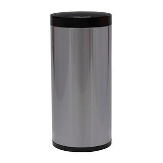 50L Round Open Sensor Stainless Steel Trash Bin