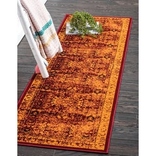 Unique Loom Istanbul Bosphorus Runner Rug 2 X 6 Options Available