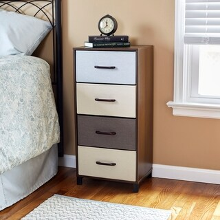 Household Essentials 4-Drawer Storage Chest