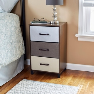 Household Essentials 3-Drawer Storage Chest