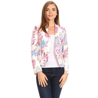 Women's Floral Pattern Blazer Style Jacket (2 options available)