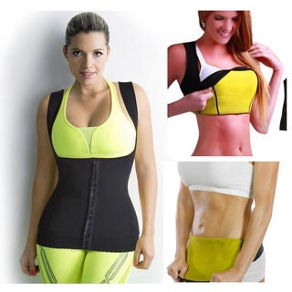 Hot Thermal Neoprene Body Slimming Vest with Clips