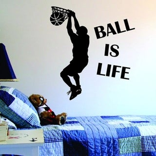 Ball Is Life Wall Vinyl