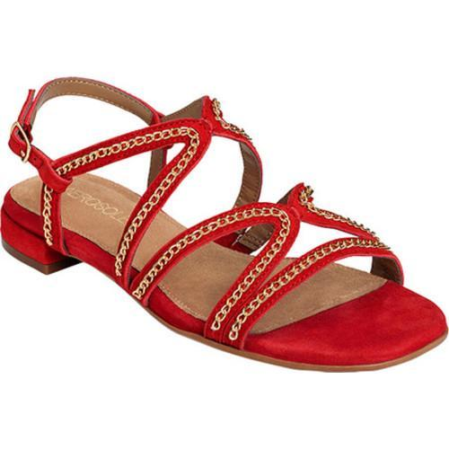 Buy Cheap Womens Aerosoles Downtown Slingback Sandal Red Suede Womens Red Suede Aerosoles Womens Aerosoles