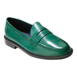 Women's Cole Haan Pinch Campus Penny Loafer Evergreen Leather