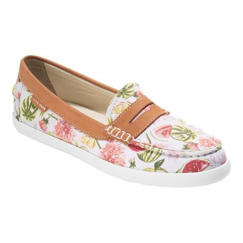 9067bcff634 Shop Women s Cole Haan Pinch Weekender Loafer Floral Print British Tan  Leather - Free Shipping Today - Overstock - 14549696