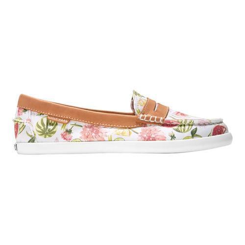 299f32bbfee ... Thumbnail Women  x27 s Cole Haan Pinch Weekender Loafer Floral Print British  Tan ...