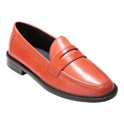 Women's Cole Haan Pinch Campus Penny Loafer Flame Leather
