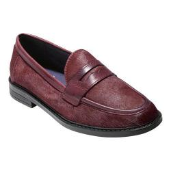 Women's Cole Haan Pinch Campus Penny Loafer Tawny Port Hair Calf Leather