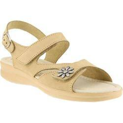 Women's Flexus by Spring Step Mukava Quarter Strap Sandal Beige Nubuck|https://ak1.ostkcdn.com/images/products/175/160/P21100559.jpg?impolicy=medium