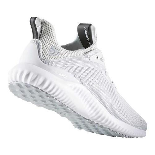 065ad2855 ... Thumbnail Men  x27 s adidas AlphaBOUNCE Running Shoe Crystal White  S16 Clear Grey ...