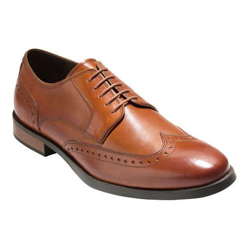 Men S Cole Haan Jay Grand Wing Oxford British Tan Leather