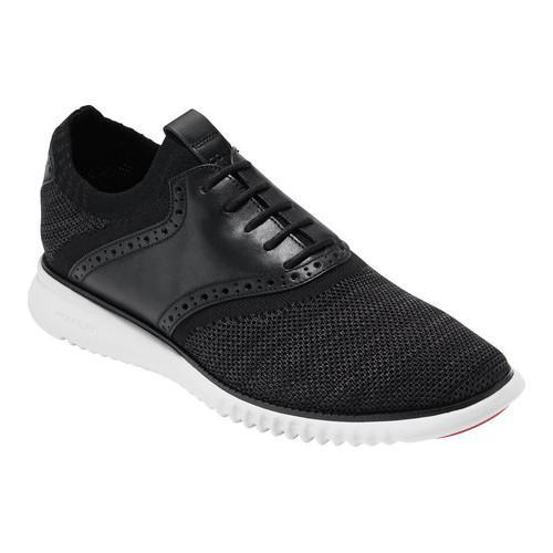 710c3aa68 Shop Men s Cole Haan ZEROGRAND Packable Saddle Sneaker Black Goji Berry Optic  White Knit - Free Shipping Today - Overstock - 14567639