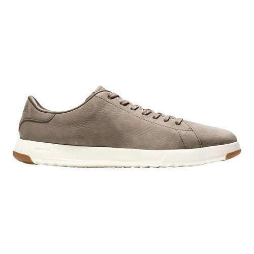 ... Men's Cole Haan GrandPro Tennis Sneaker Sea Otter Nubuck Leather