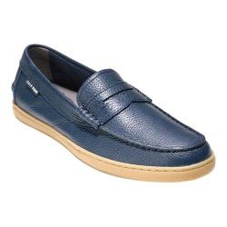 Men's Cole Haan Pinch Weekender Loafer Blazer Blue Tumble Leather