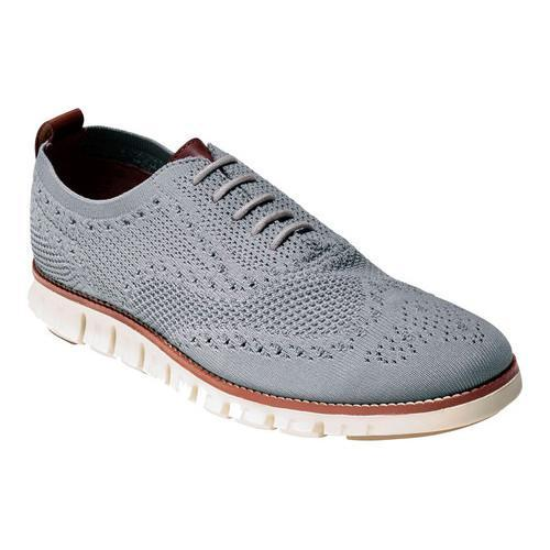 d904bfa51cc Shop Men s Cole Haan ZEROGRAND Stitchlite Oxford Ironstone Ivory Knit -  Free Shipping Today - Overstock - 14567644