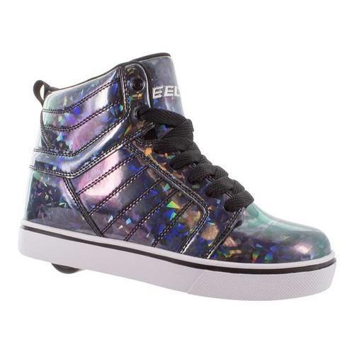 41937028a96332 Shop Children s Heelys Uptown High Top Roller Shoe Black Hologram - Free  Shipping Today - Overstock - 14567653