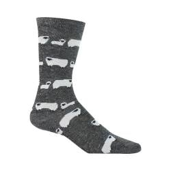 Women's Woolrich Sheep Novelty Sock (2 Pairs) Charcoal