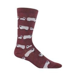 Women's Woolrich Sheep Novelty Sock (2 Pairs) Wine