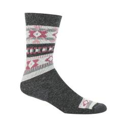 Women's Woolrich Snowflake Novelty Sock (2 Pairs) Charcoal
