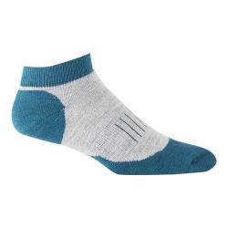 Woolrich Superior Hiker Low Cut Quarter Sock (2 Pairs) Soft Grey