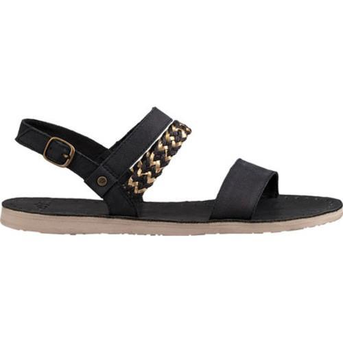 Shop Women S Ugg Elin Quarter Strap Sandal Black Leather