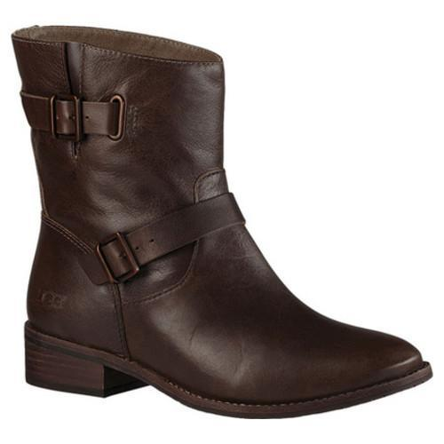 1a0df8c86ab Women's UGG Fletcher Biker Boot Walnut Leather