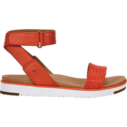 441c229649d Women's UGG Laddie Ankle Strap Sandal Fire Opal Leather