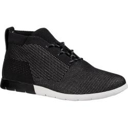 Men's UGG Freamon Hyperweave Chukka Boot Black Textile