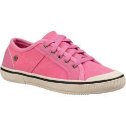 Children's UGG Gener Sneaker Pink Azalea Canvas