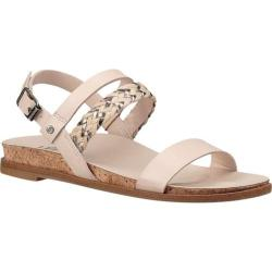 Girls' UGG Jayna Metallic Sandal Canvas Faux Leather