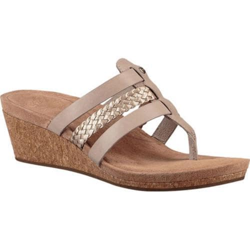 6178a706ed3 Women's UGG Maddie Wedge Sandal Horchata Leather