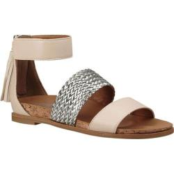 Girls' UGG Marabel Metallic Sandal Canvas Faux Leather