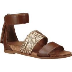 Girls' UGG Marabel Metallic Sandal Chestnut Faux Leather