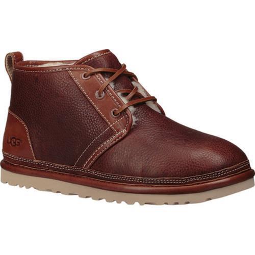 Men's UGG Neumel Chukka Boot Stout Crackle Grain Leather