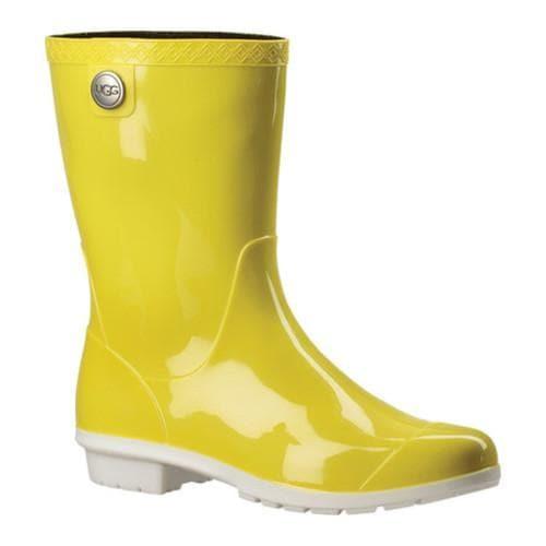 a5ebd548dc9 Women's UGG Sienna Rain Boot Neon Lime