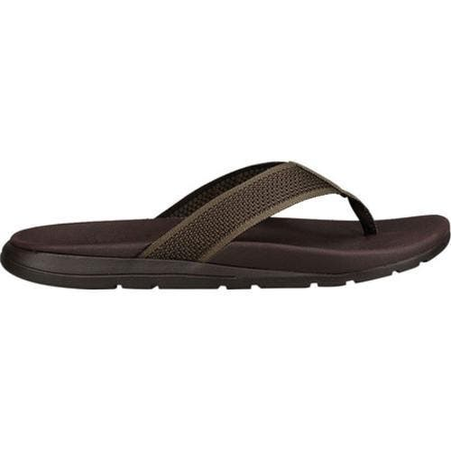 3a722f48c1ca5 Men's UGG Tenoch Flip Flop Burnt Olive HyperWeave Knit | Overstock.com  Shopping - The Best Deals on Sandals
