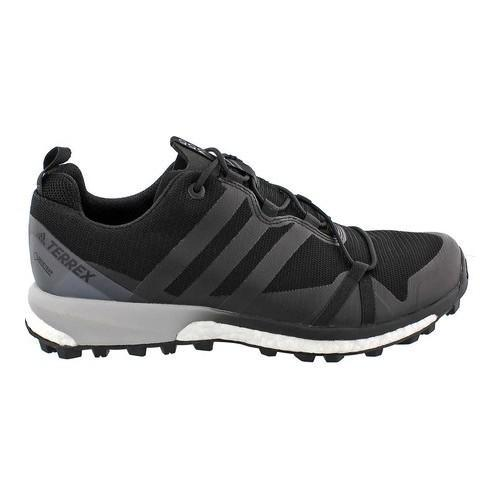 29288729972 Shop Men s adidas Terrex Agravic GORE-TEX Trail Running Shoe Black Black White  - Free Shipping Today - Overstock - 14538856