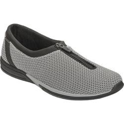 Women's Aerosoles Traveler Slip-On Black/White Multi Fabric