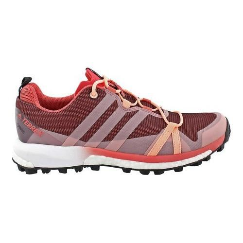 dc51688035b71 Shop Women s adidas Terrex Agravic GORE-TEX Trail Running Shoe Tactile Pink Haze  Coral White - Free Shipping Today - Overstock - 14538859