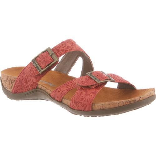 Women's Bearpaw Maddie Sandal Redwood Synthetic