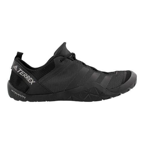 ee90784edbb77b Shop Men s adidas Terrex Climacool Jawpaw Lace Up Water Shoe Utility Black  Black Silver Metallic - Free Shipping Today - Overstock - 14538909