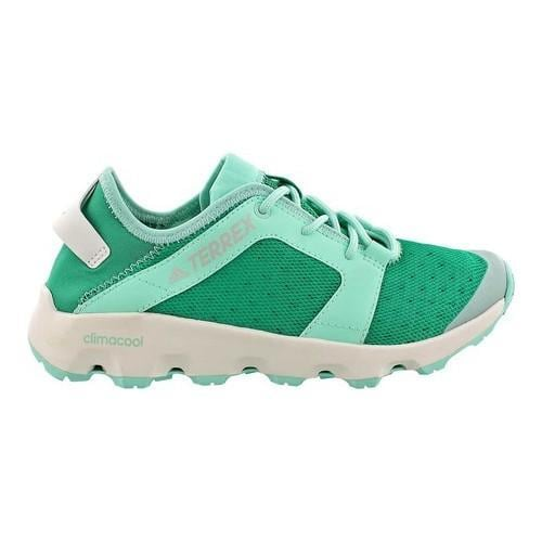 8c0fdb18586f Shop Women s adidas Terrex Climacool Voyager Sleek Water Shoe Core Green Chalk  White Easy Green - Free Shipping Today - Overstock - 14538920