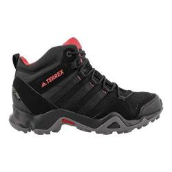 Women's adidas Terrex AX 2.0 R Mid GORE-TEX Hiking Shoe Black/Black/Tactile Pink