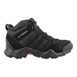 Men's adidas Terrex AX 2.0 R Mid GORE-TEX Hiking Shoe Black/Black/Vista Grey
