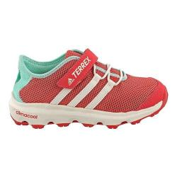 Children's adidas Terrex Climacool Voyager Cloudfoam Hiking Shoe Tactile Pink/Chalk White/Easy Green