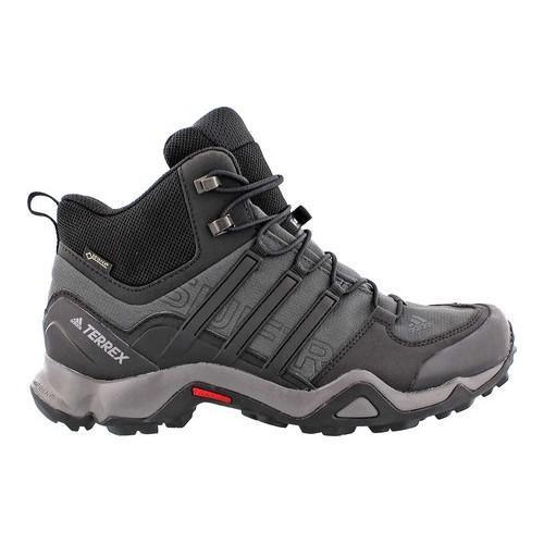 on sale 6e2b2 caabc Shop Men s adidas Terrex Swift R Mid GORE-TEX Dark Grey Black Granite -  Free Shipping Today - Overstock - 14538963
