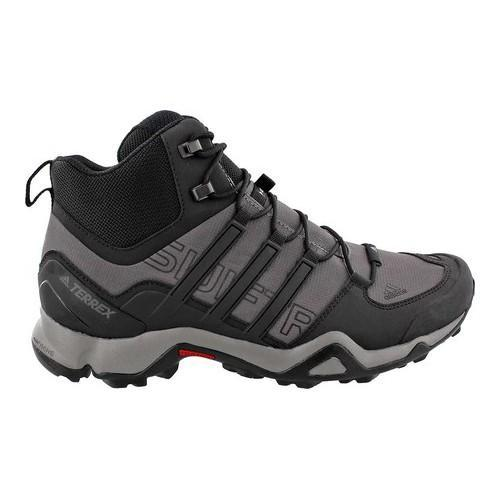 a523deed8a0 Shop Men s adidas Terrex Swift R Mid Hiking Boot Granite Black Ch Solid Grey  - Free Shipping Today - Overstock.com - 14538965