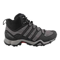 Men's adidas Terrex Swift R Mid Hiking Boot Granite/Black/Ch Solid Grey