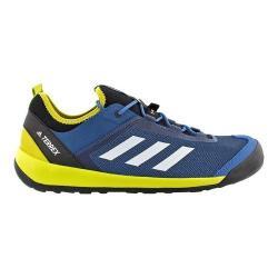 Men's adidas Terrex Swift Solo Approach Shoe Core Blue/Chalk White/Unity Lime